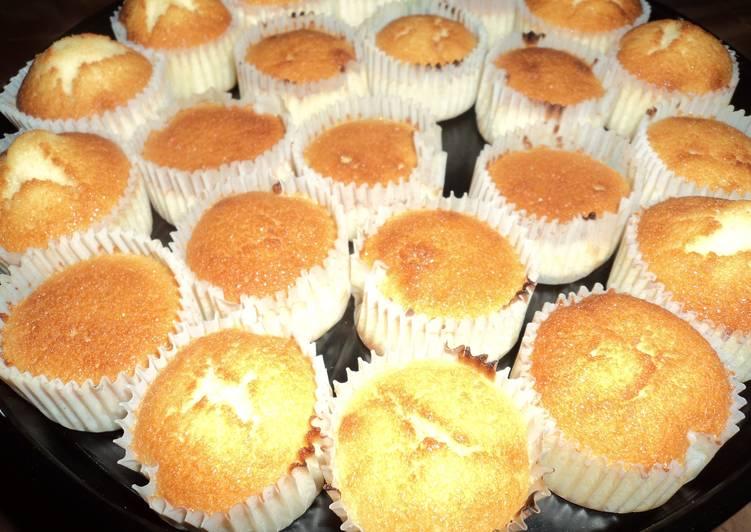 Mini Butter Cupcake