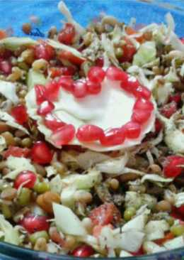 Mix sprout salad