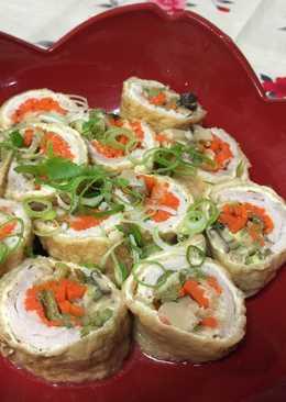 Japanese Aburaage Roll (Miso taste)