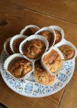 Courgette and Apple Muffins