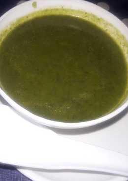 Palak aur carrot ka buttery soup