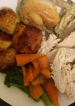 Roast Chicken Sunny Side Up