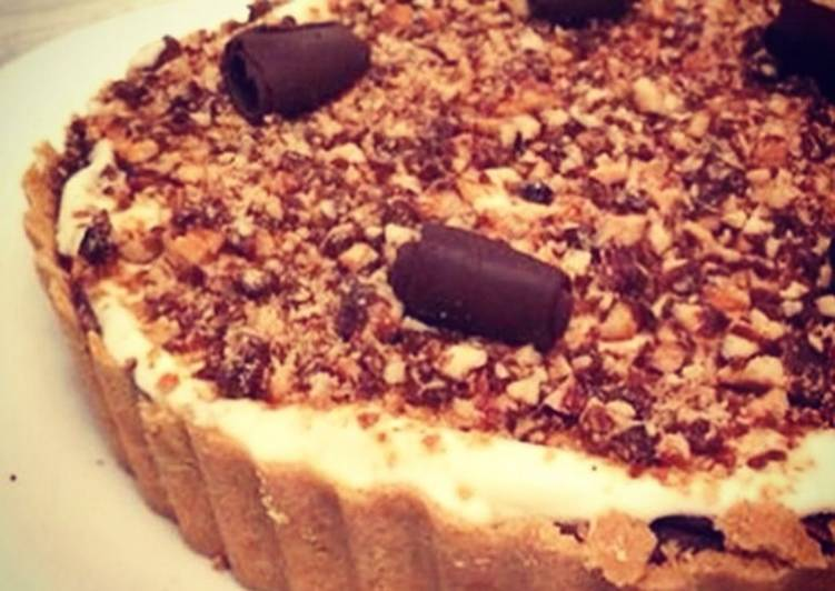 Lemon Chocolate Mousse Tart