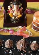 #Rajgiraflour-dates-dryfruits-stuff-modak