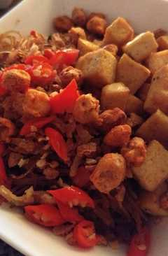 resep masakan indonesian style fried tofu
