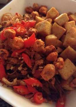 resep masakan indonesian style fried tofu
