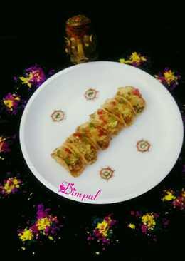 Paneer Tikka Tacos Chaat