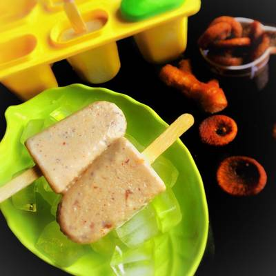 Ginger and Anjeer Popsicle