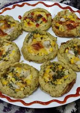 Potato Pizza/ Aaloo Pizza..#healthyjunior
