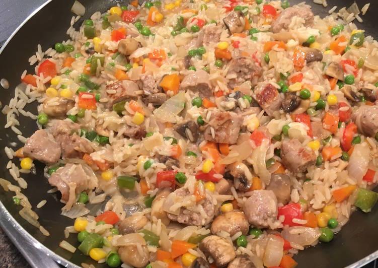 Sausage Jambalaya (Mild)