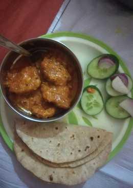 Ghiya kofte Curry