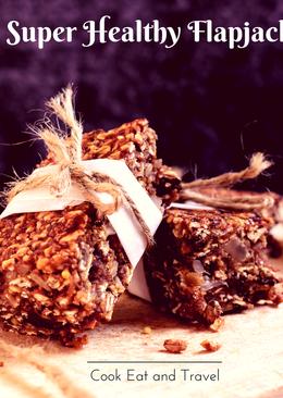 Super Healthy Flapjacks – no butter or sugar
