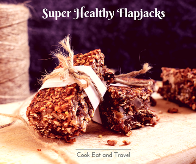 Super Healthy Flapjacks – no butter or sugar