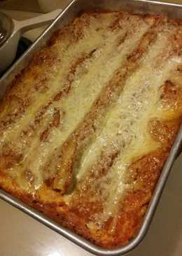 Simple Meatless Lasagna in a Flash