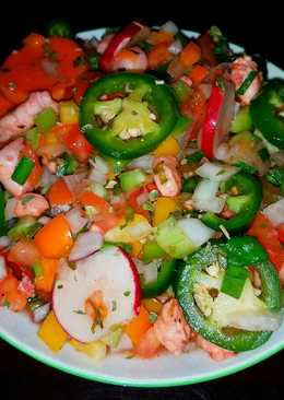Mike's Spicy Mexican Shrimp Ceviche