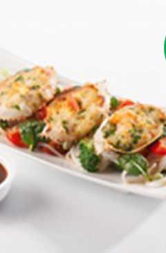 resep masakan noodles crab n shrimp