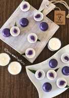 Talam Ubi Ungu (Sweet Purple Yam Talam Cake)