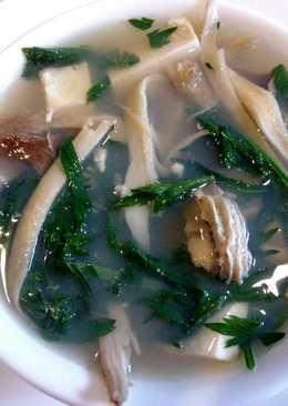 resep masakan oyster tofu and mugwort soup %e7%89%a1%e8%9b%8e%e8%b1%86%e8%85%90%e8%8c%b5%e9%99%88%e8%89%be%e8%8d%89%e6%b1%a4