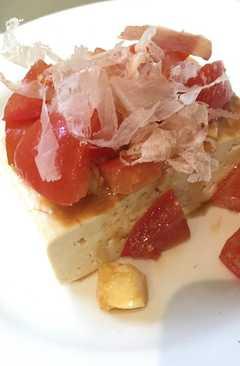 resep masakan tomato tofu