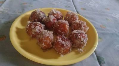 Coconut shahi gulab jamun