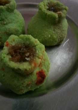 Green pea halwa kalash