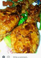 Crispy Chicken With Honey Garlic Sauce
