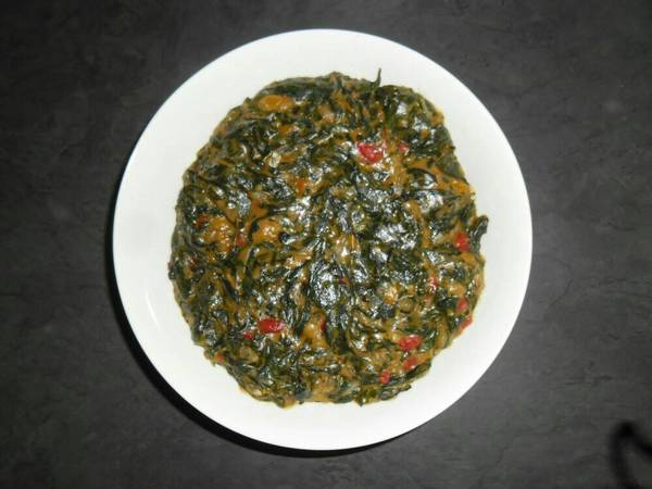 Peppers cream Spinach