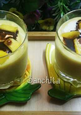 Eggless Quick Mango Cookie Mousse