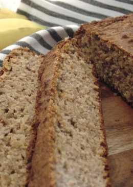 Buckwheat Banana Bread (GF, DF)
