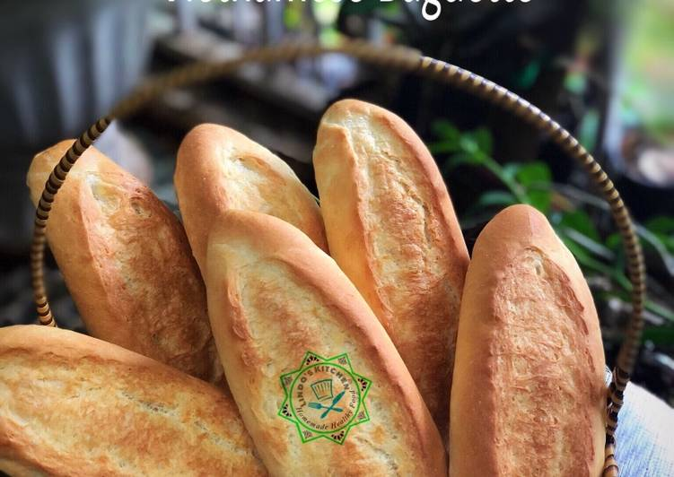 The easiest Vietnamese Baguette recipe : Bánh Mì Recipe by