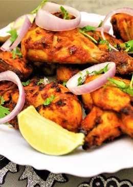 Grilled Achari Chicken