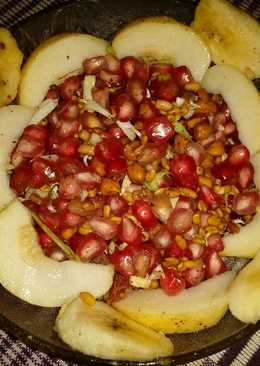 Sprout fruit chaat
