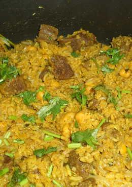 Beef Chole Rice