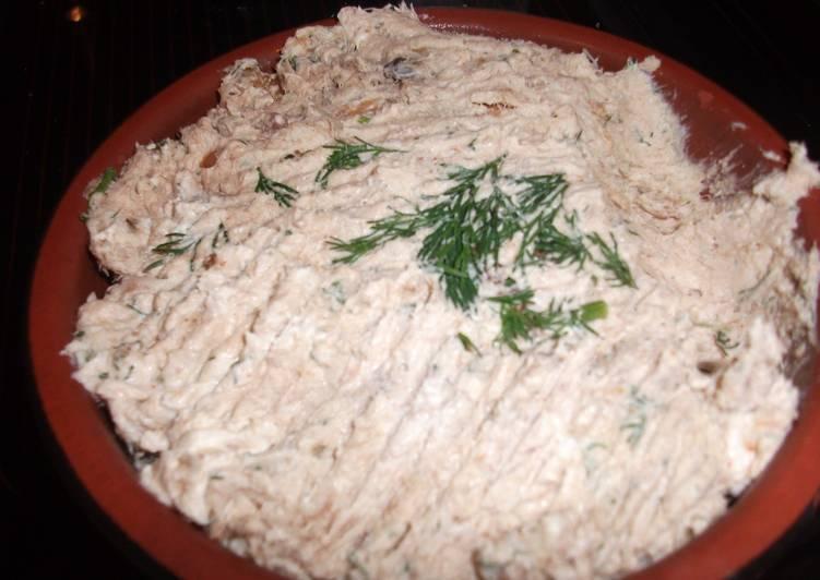 Smoked mackerel pate