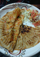 Carrot cauliflower paratha