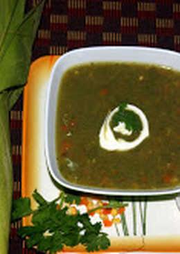 Coriander Corn soup