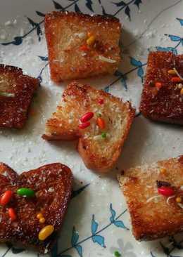 Sweet shahi toast