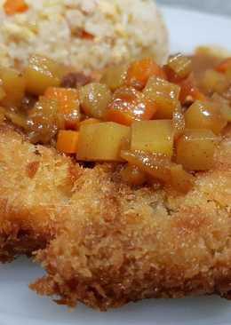 Chicken chop recipes 12 recipes cookpad student meal chicken katsu japanese chicken chop forumfinder Gallery