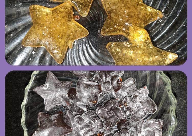 Spiced lemon candy and lemon candy Recipe by Zarna B V