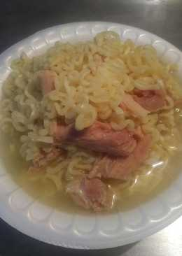 Smoked ham and Ramen