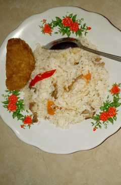 resep masakan homemade indonesian chicken fried rice
