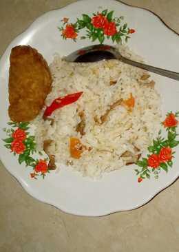 Homemade Indonesian Chicken Fried Rice