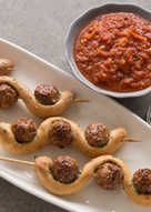 Twisted Meatball Subs