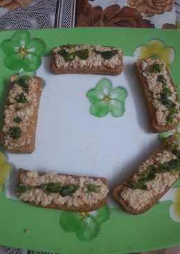 Rusk Paneer Toast