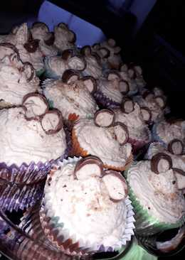 Schokobons-Cupcake