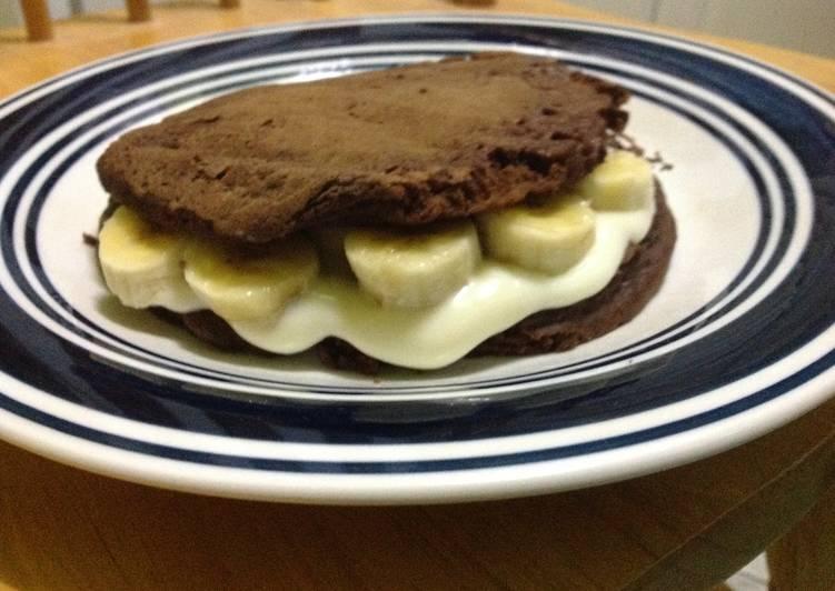 Stuffed Oreo style Pancake