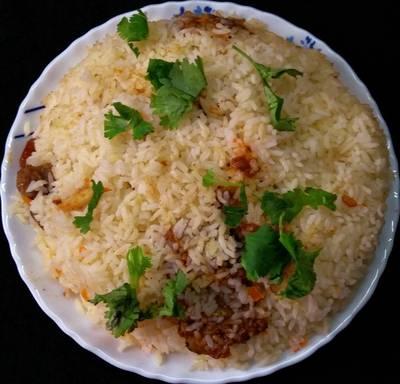 Chicken Biryani (Thalassery Chicken Biryani)