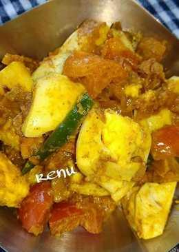 Egg Fry Dry Sabji