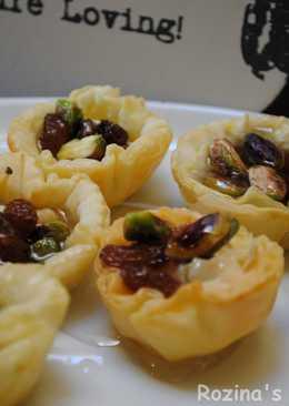 Raisins baklava