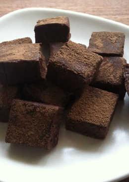 Super Easy Tofu Chocolate Truffles